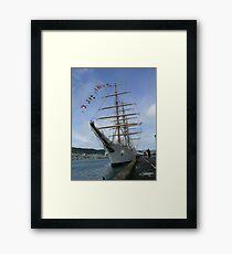 Libertad - Argentine Navy training ship (3) Framed Print
