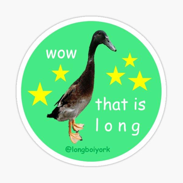 wow that is l o n g Sticker