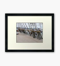 Libertad - Argentine Navy training ship (4) Framed Print