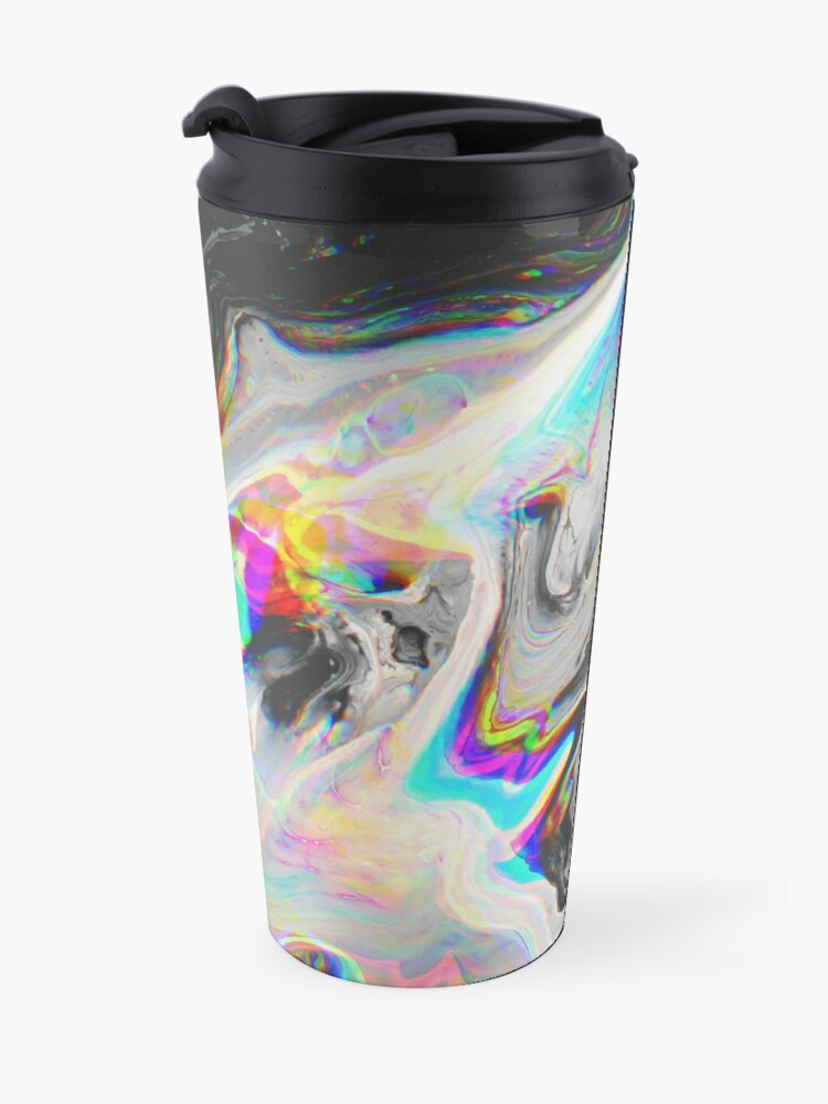 Alternate view of CONFUSION IN HER EYES THAT SAYS IT ALL Travel Mug