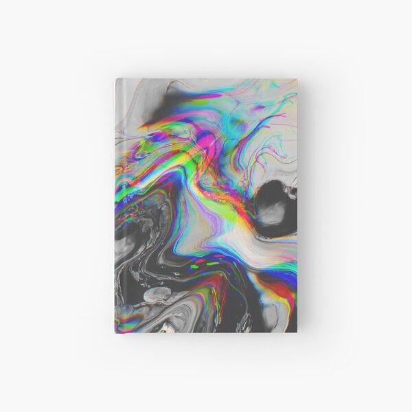 CONFUSION IN HER EYES THAT SAYS IT ALL Hardcover Journal