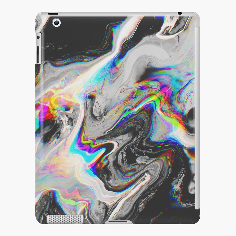 CONFUSION IN HER EYES THAT SAYS IT ALL iPad Case & Skin