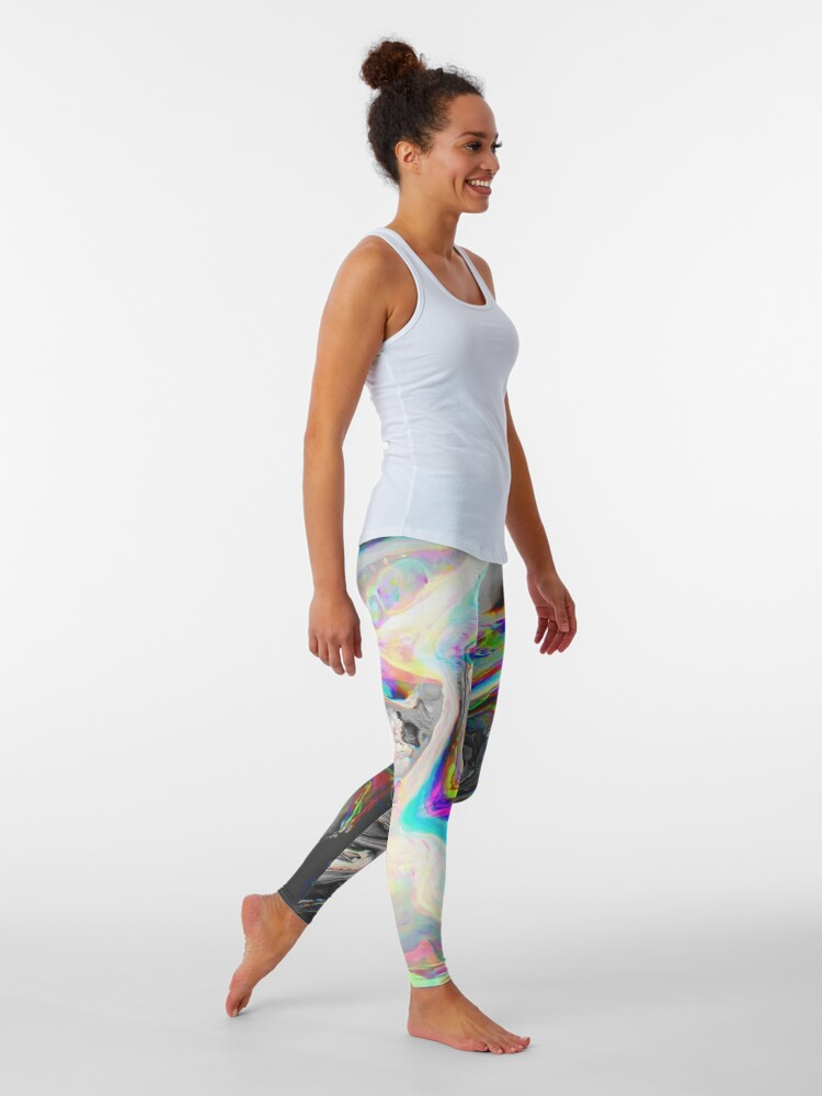 Alternate view of CONFUSION IN HER EYES THAT SAYS IT ALL Leggings