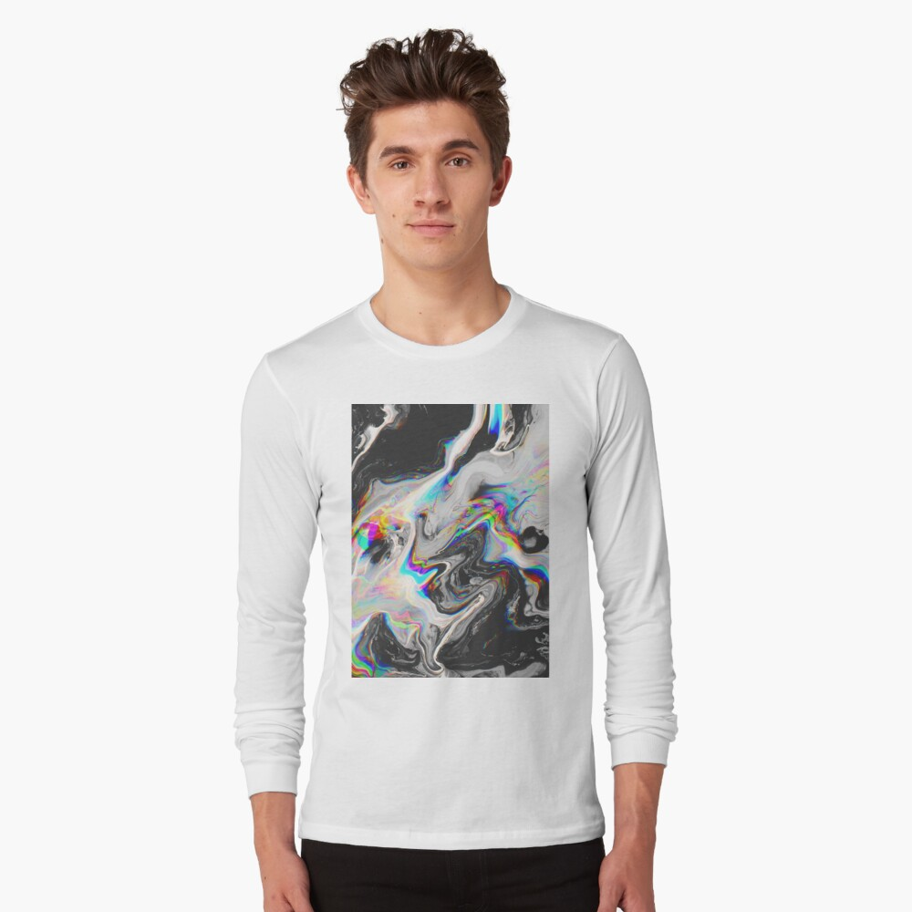CONFUSION IN HER EYES THAT SAYS IT ALL Long Sleeve T-Shirt