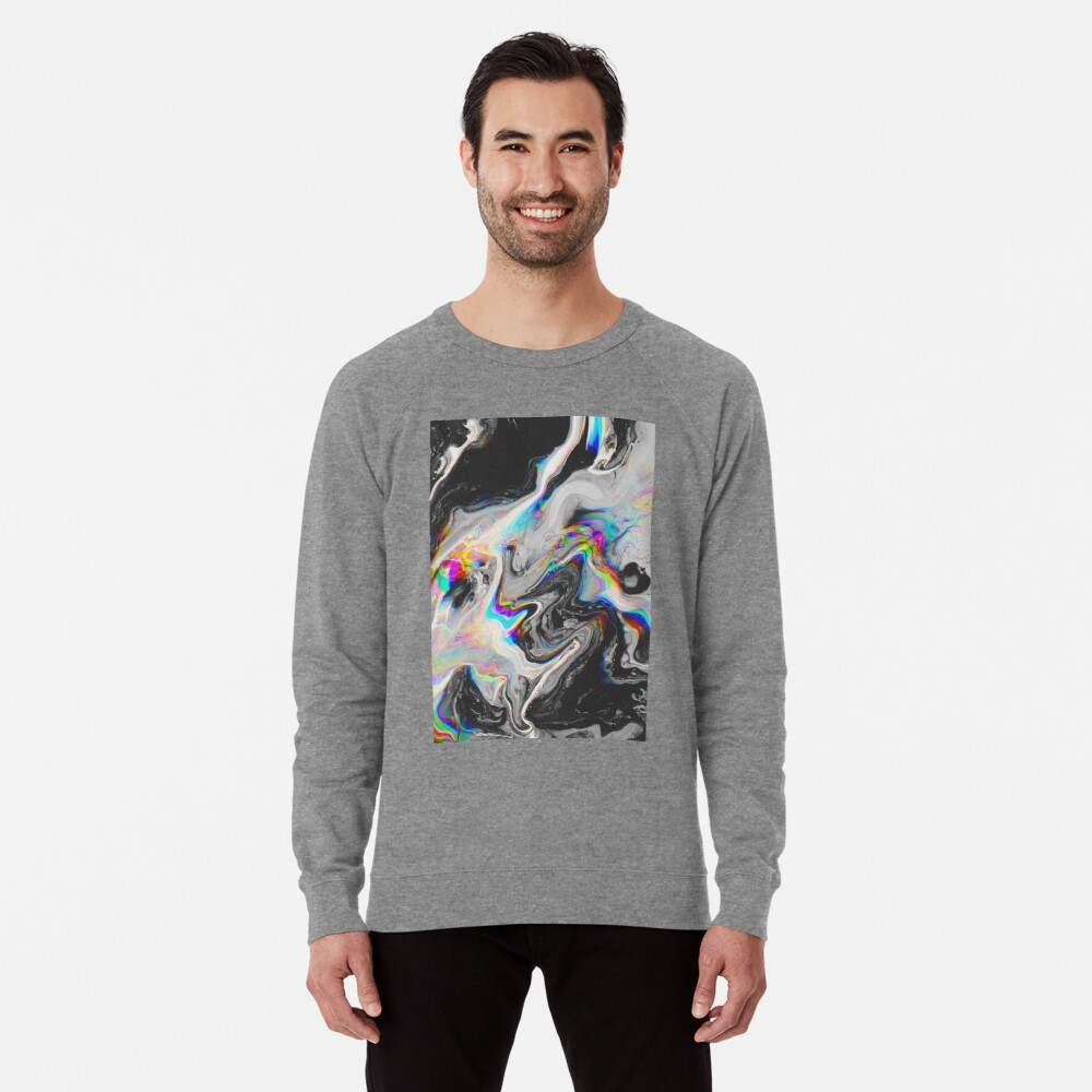 CONFUSION IN HER EYES THAT SAYS IT ALL Lightweight Sweatshirt