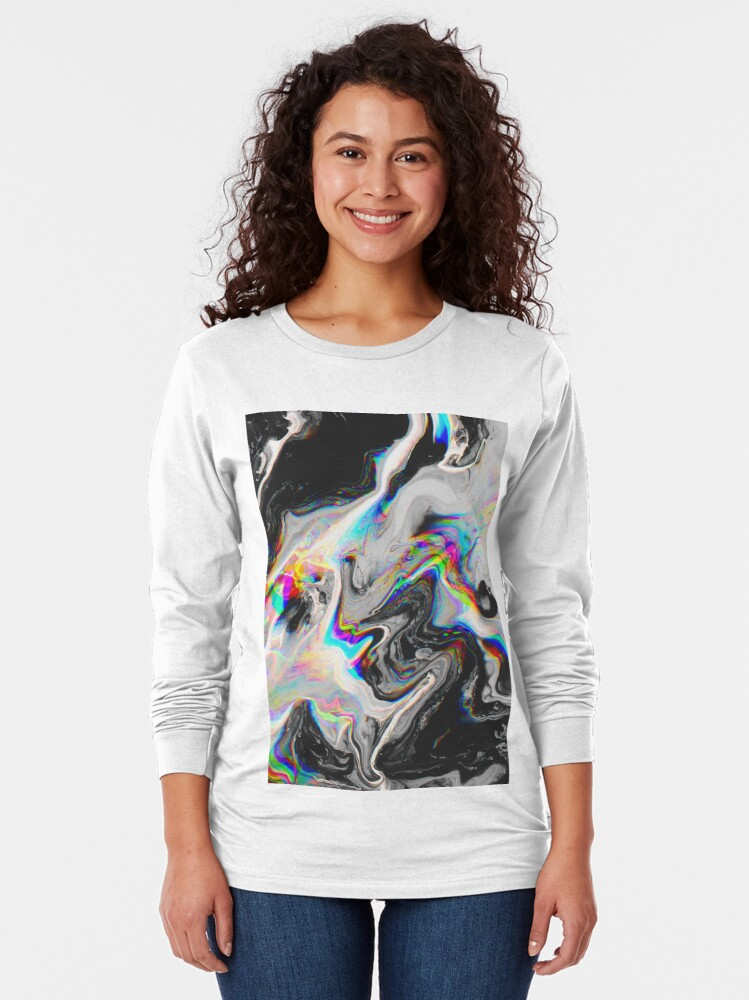 Alternate view of CONFUSION IN HER EYES THAT SAYS IT ALL Long Sleeve T-Shirt