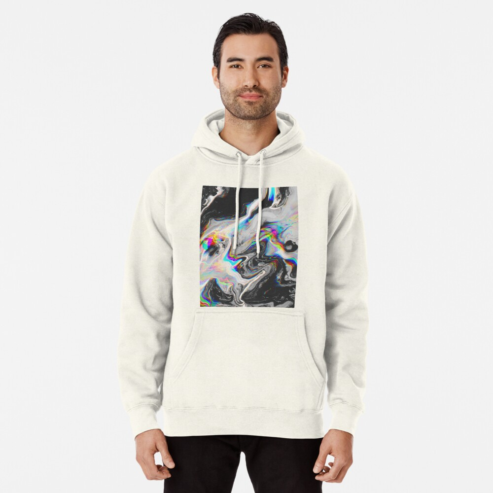 CONFUSION IN HER EYES THAT SAYS IT ALL Pullover Hoodie
