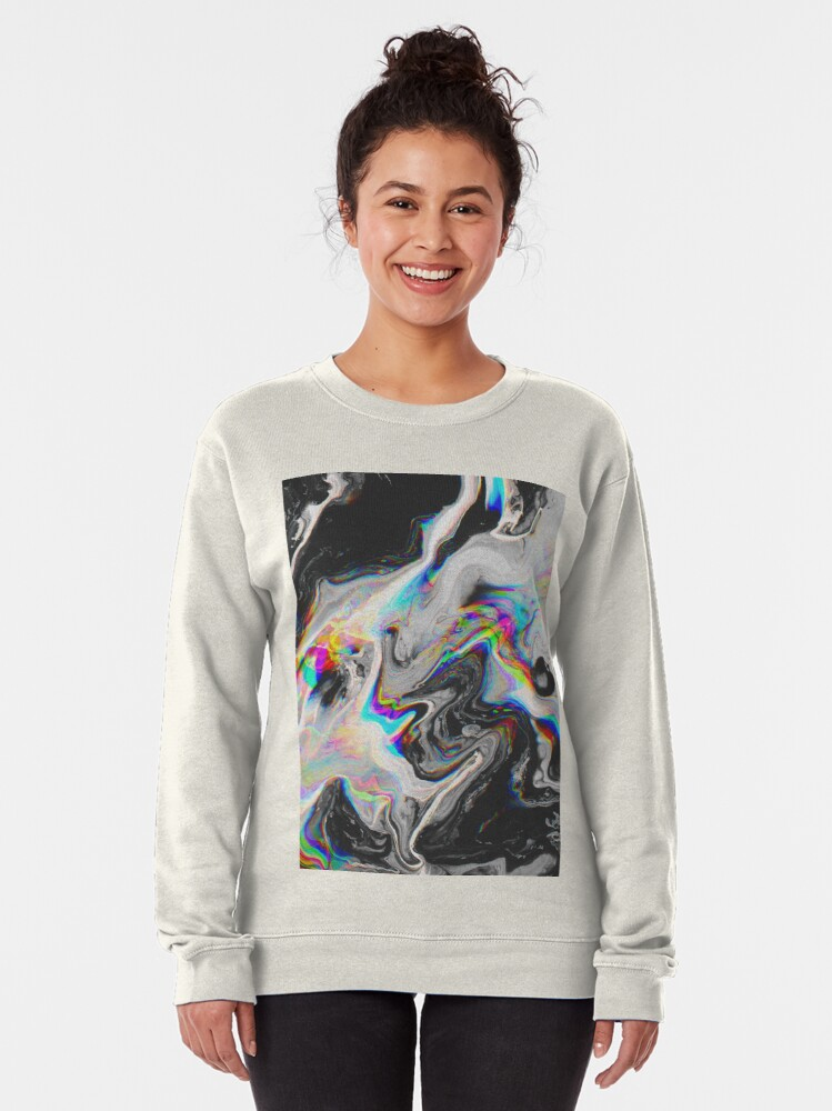 Alternate view of CONFUSION IN HER EYES THAT SAYS IT ALL Pullover Sweatshirt