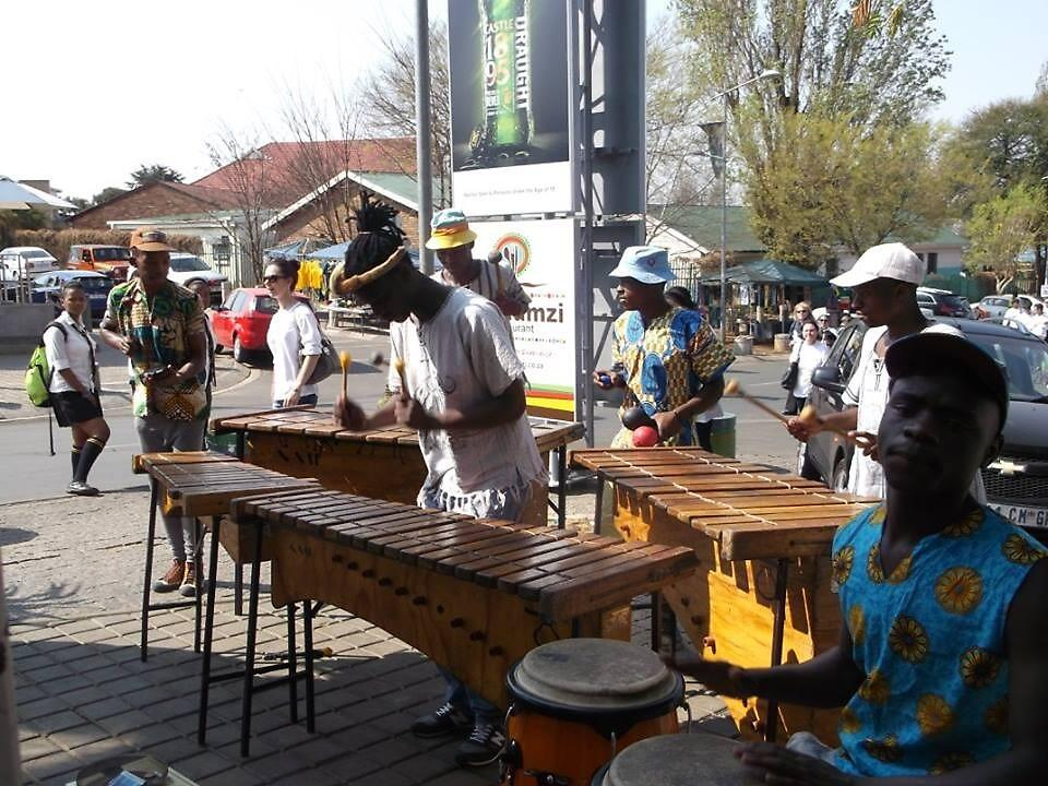 Musicians, Soweto, South Africa by sbrosszell