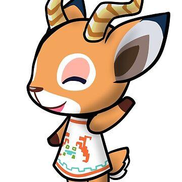 Animal Crossing Beau  by Raythebishie