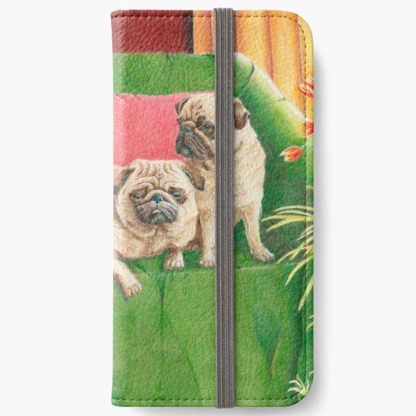 Pugs - Good company iPhone Wallet