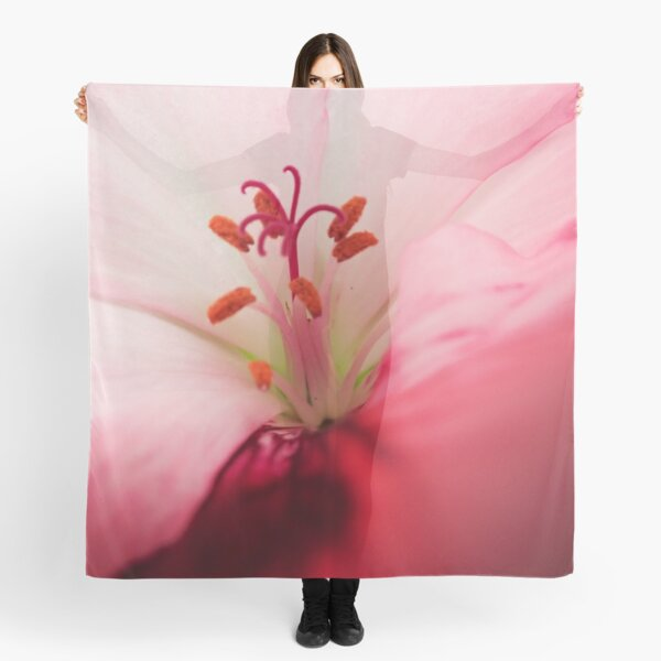 The Heat of the Flower Scarf