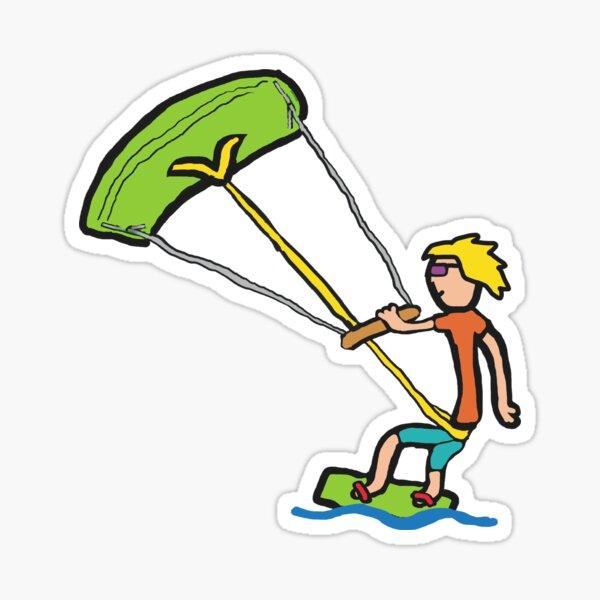 Kiteboarding Sticker