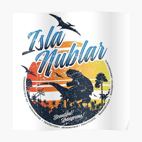 Isla Nublar Poster