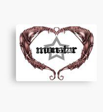 MonStar - Heart (NB) Canvas Print