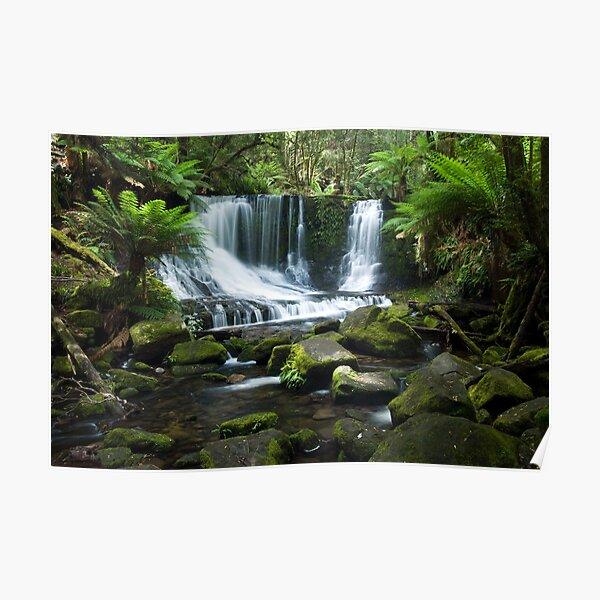 Horseshoe Falls, Tasmania Poster
