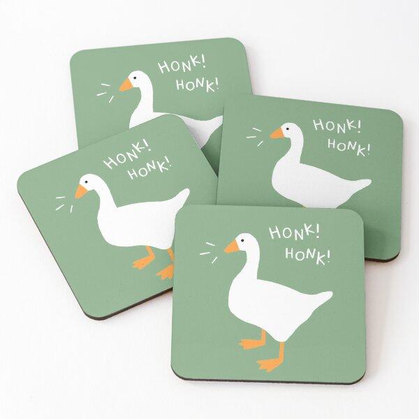 Honk Honk Goose Coasters (Set of 4)
