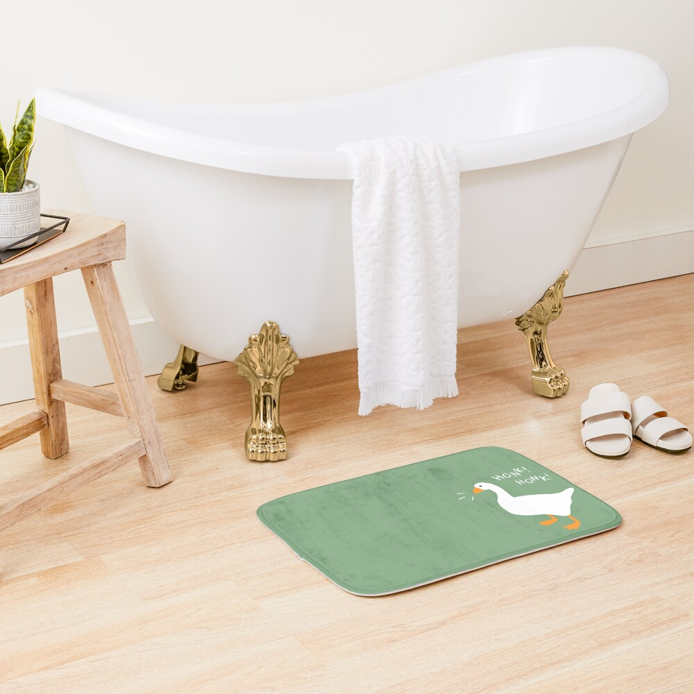 Honk Honk Goose Bath Mat