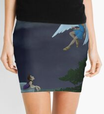 Minifalda Cupid and Psyche meet in the moonlight