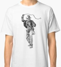 Indiana Jones Hand-drawing Classic T-Shirt