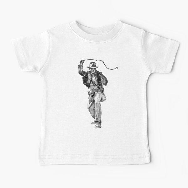 Indiana Jones Hand-drawing Baby T-Shirt