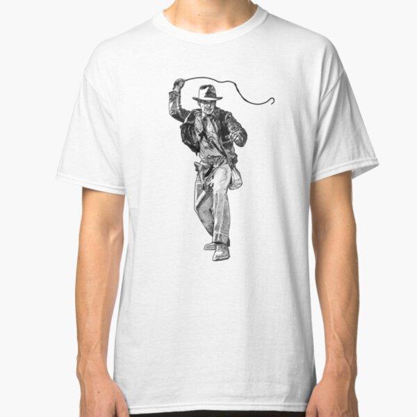 Indiana Jones Hand-drawing Classic T-Shirt