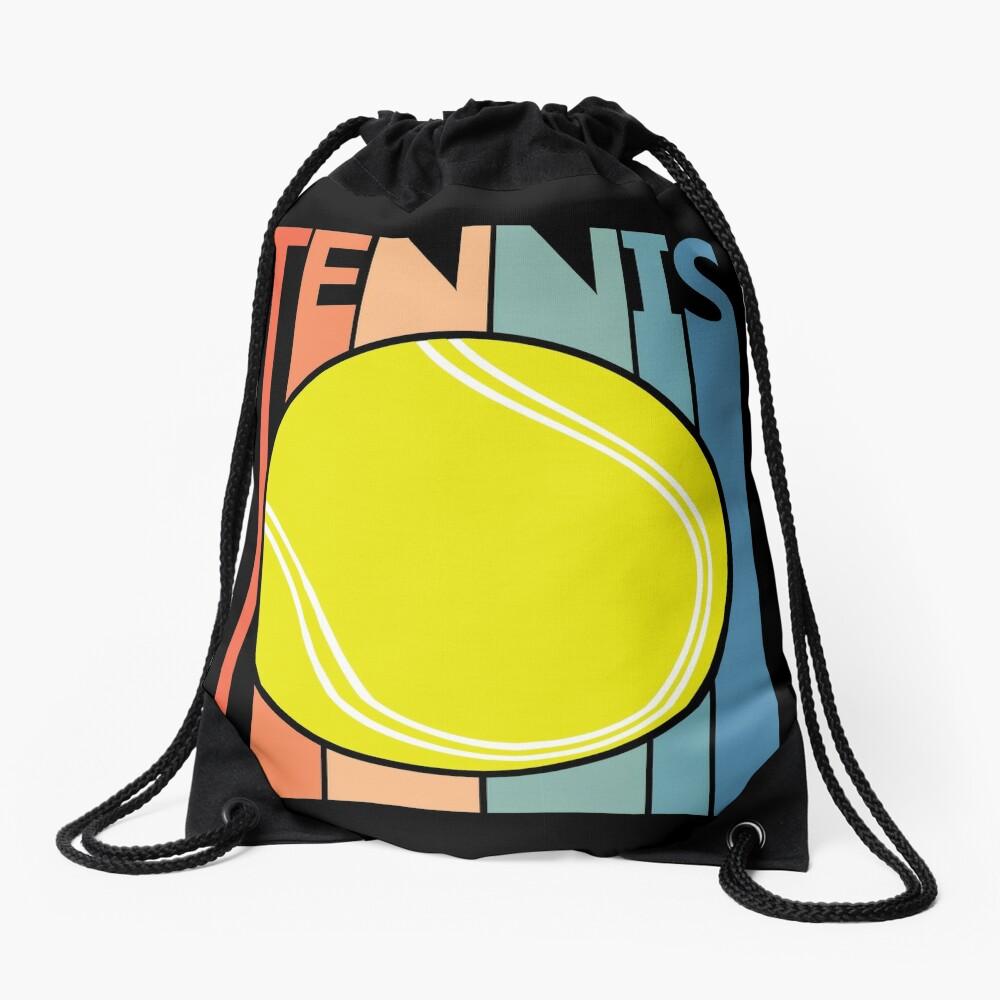 Tennis Ball Drawstring Bag