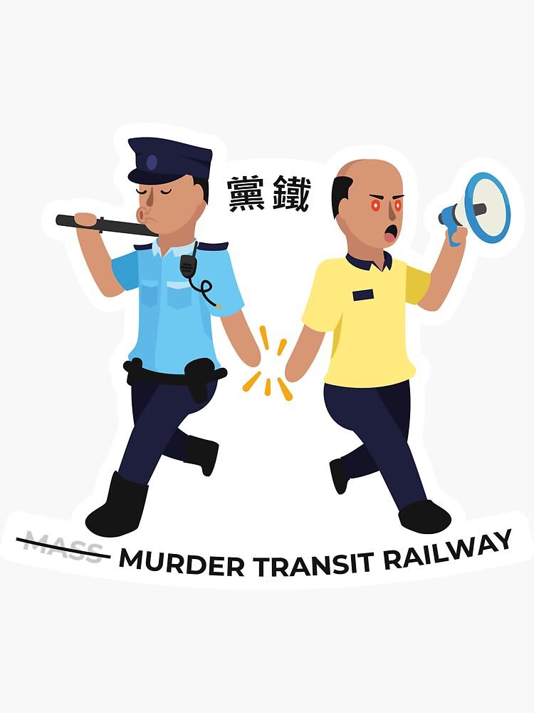 Murder Transit Railway by AlefYodhAlef