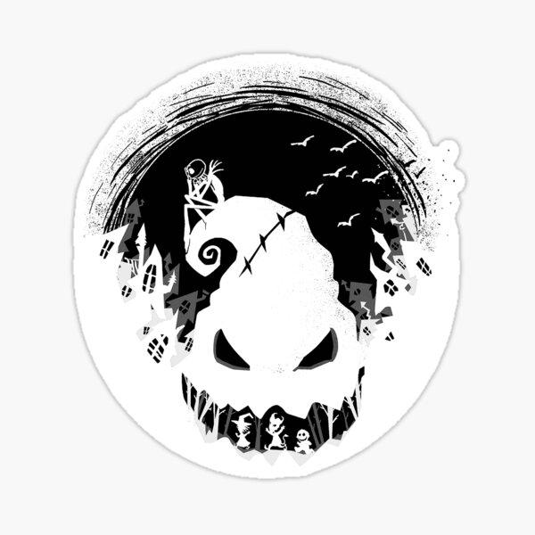 Halloween Town's Peril - Jack's Lament Sticker