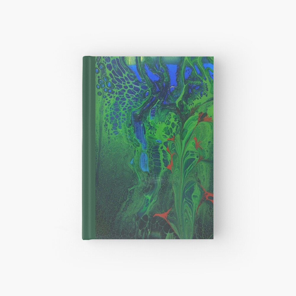 The Leopard Hides in the Jungle Hardcover Journal
