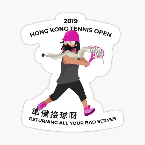 Hong Kong Tennis Sticker