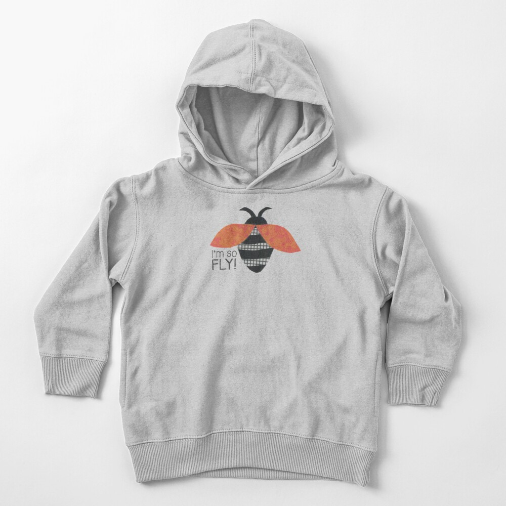 I'm So Fly Toddler Pullover Hoodie