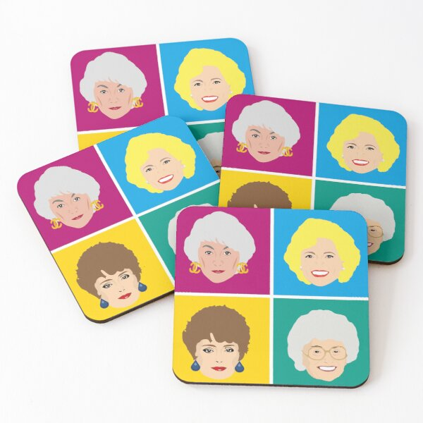 Dorothy, Blanche, Rose and Sophia Coaster Coasters (Set of 4)