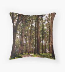 Dandenong Ranges National Park - Mountain Ash Throw Pillow