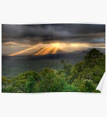 You Raise Me Up - Capertee Valley,West Of Sydney  Australia - The HDR Experience Poster
