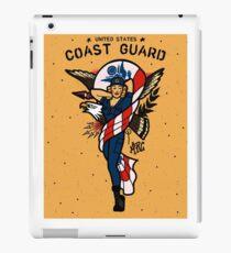 SJ Inspired Coast Guard Pinups - USCG Ensign iPad Case/Skin