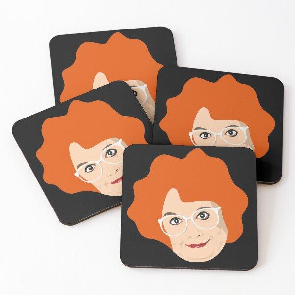 Linda La Hughes Coaster Coasters (Set of 4)