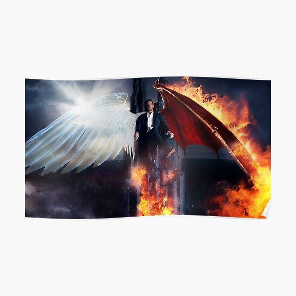 Lucifer - Hellish Throne Poster