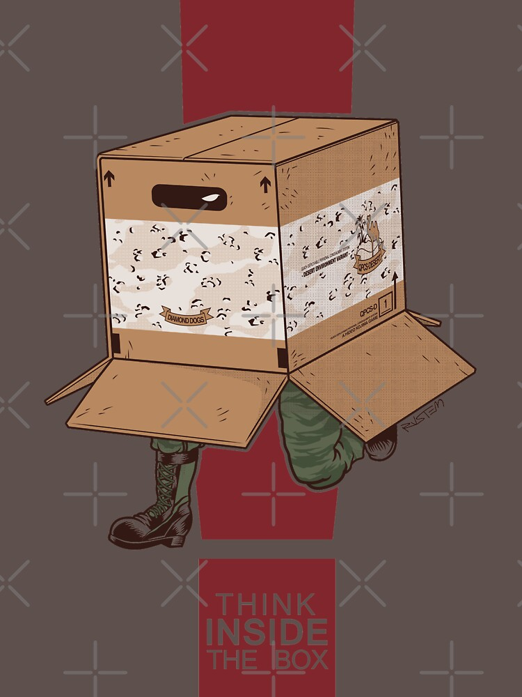 Think INSIDE the box. by rustenico