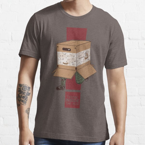 Think INSIDE the box. Essential T-Shirt
