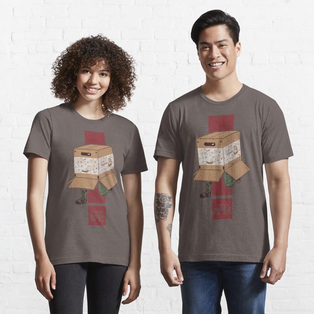 Think INSIDE the box. Essential T-Shirt