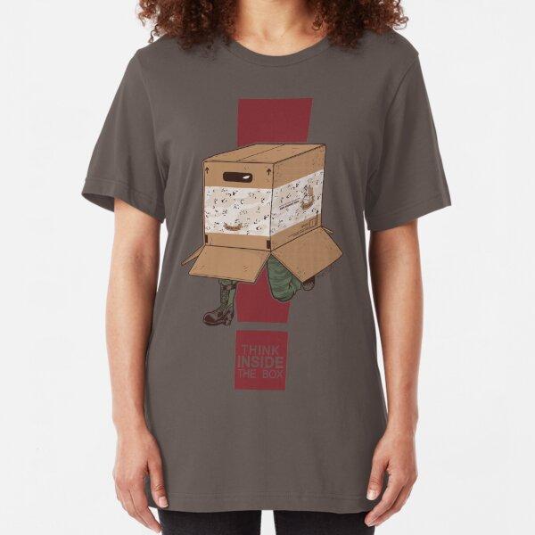 Think INSIDE the box. Slim Fit T-Shirt