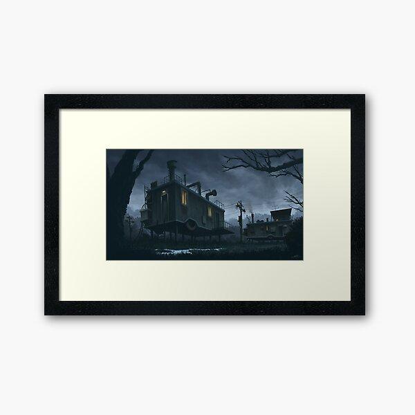 Flood Prep Framed Art Print