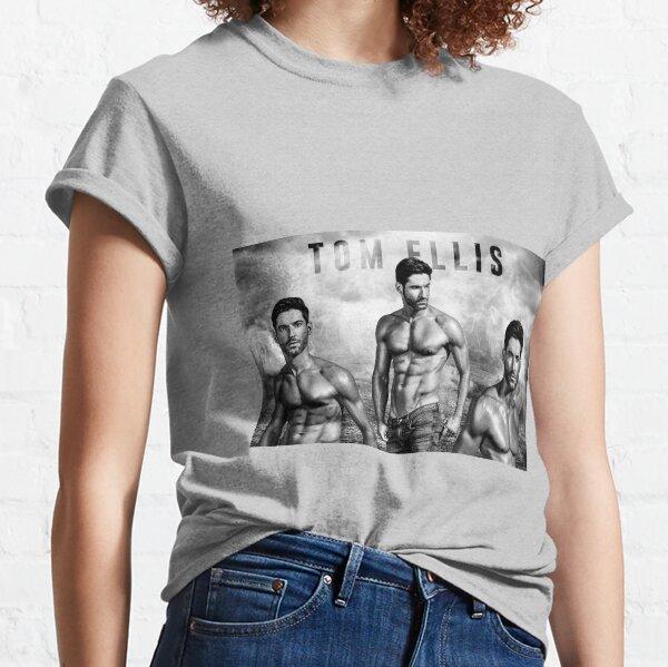 Lucifer - Tom Ellis Collage Classic T-Shirt