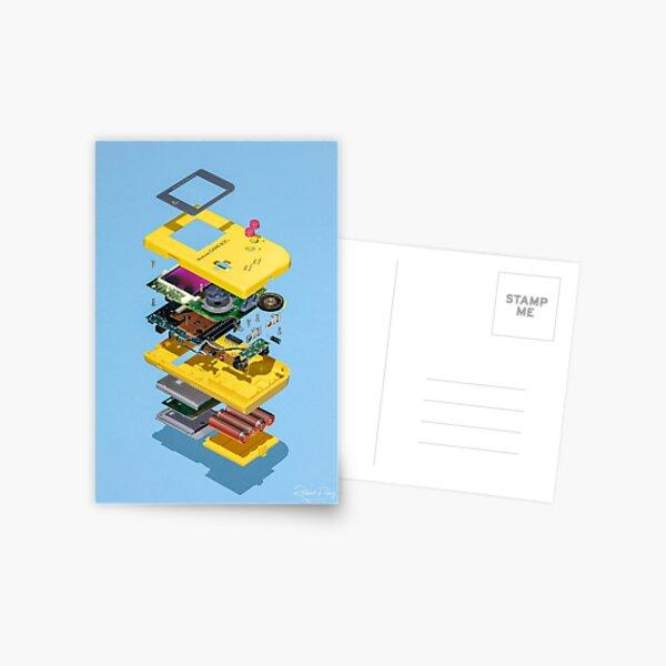 Gameboy  Postcard