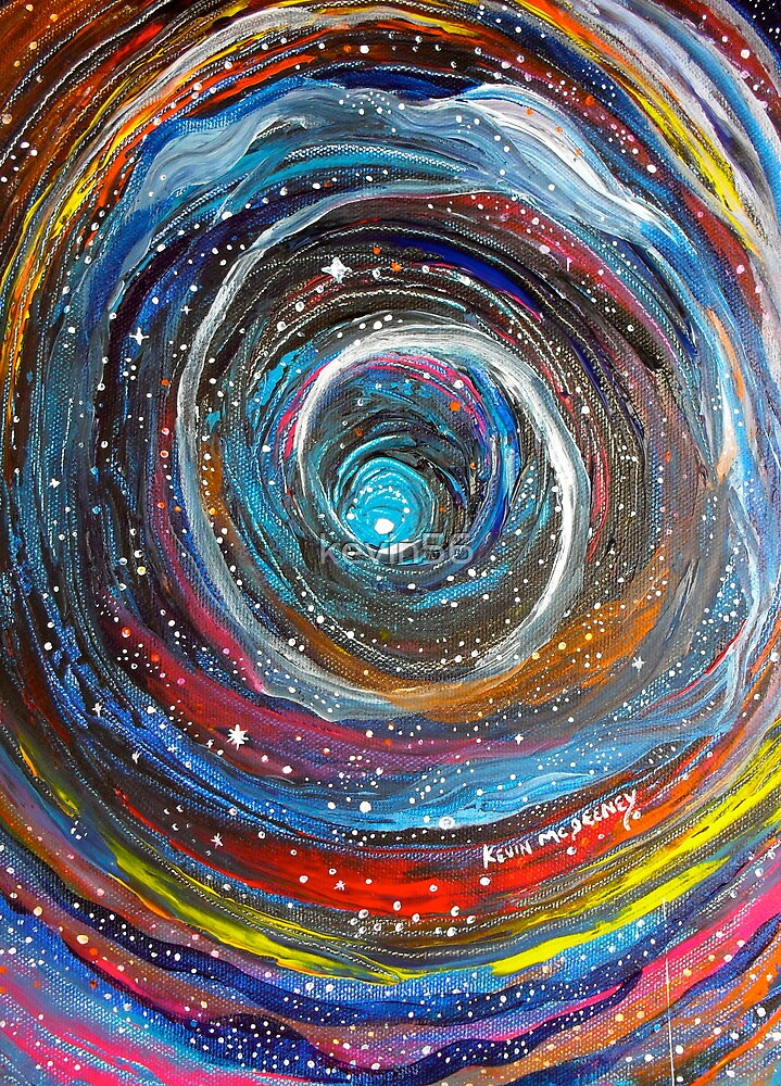 time tunnel by Kevin McGeeney