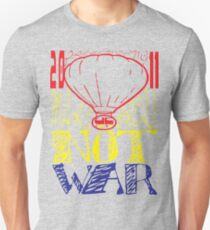 make bread not war tshirt by ian rogers T-Shirt