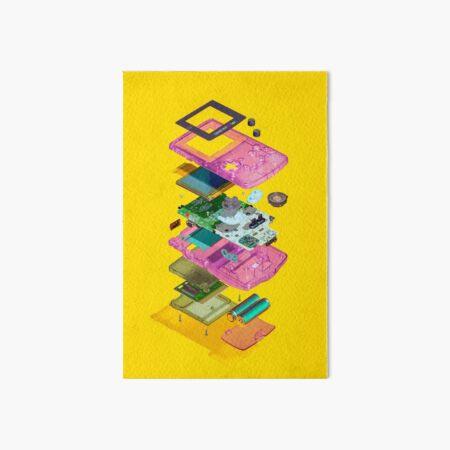 Nintendo Gameboy Color Art Board Print
