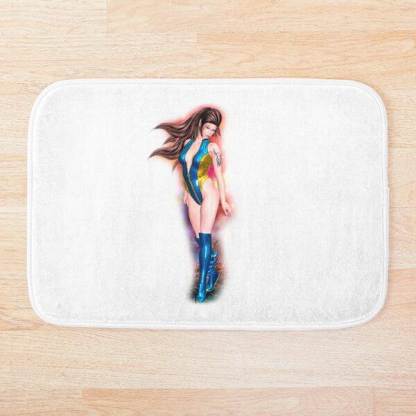 Alien Cherie - ein Mädchen aus dem All Badematte