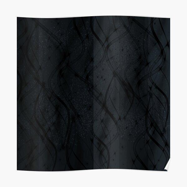 Black Swirl Poster